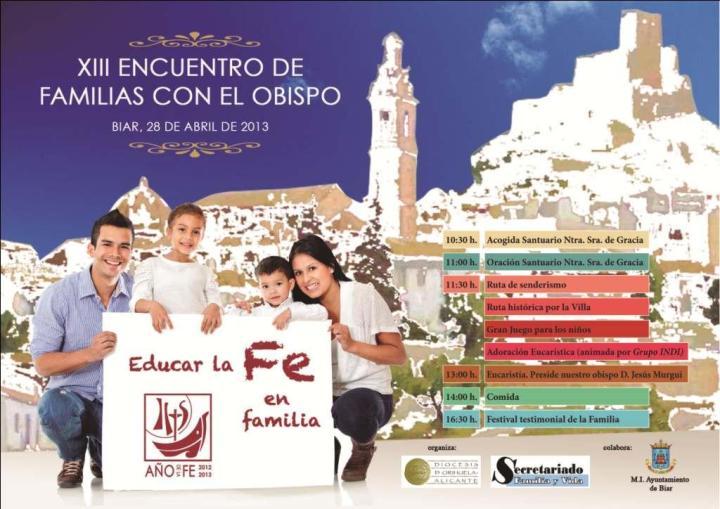 XIII Encuentro diocesano de familias