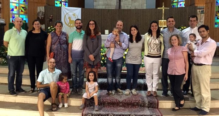 Grupo Jordán en su primer encuentro del curso, 27 septiembre 2015