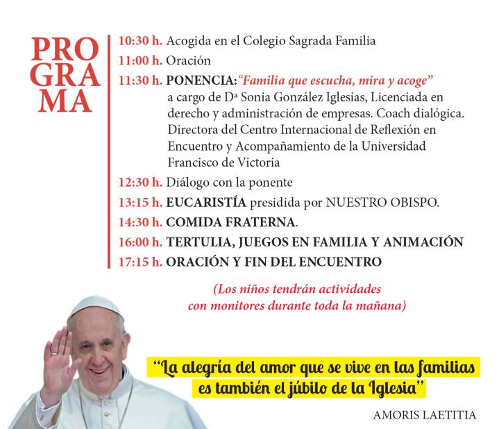 Programa Encuentro de Familias